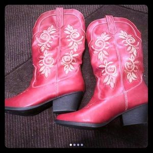 Shoes - Red cowgirl boots new